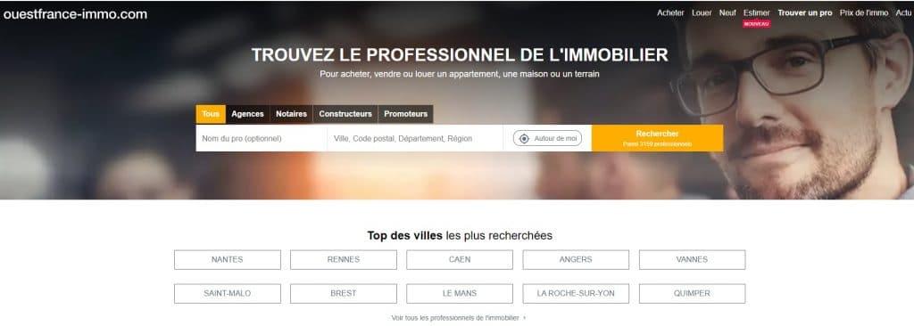Ouestfrance-immo PRO : le site des professionnels de l'immobilier