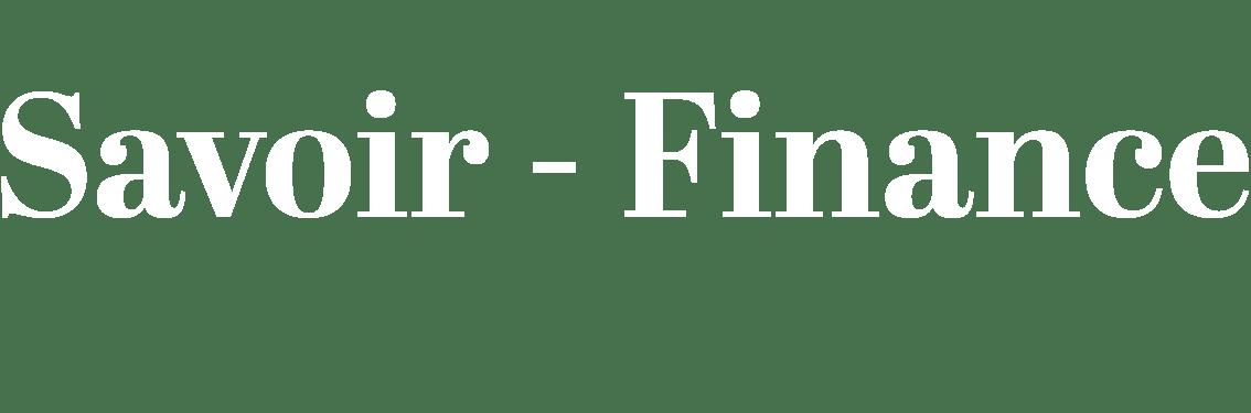 Savoir-Finance - Blog sur l\'économie