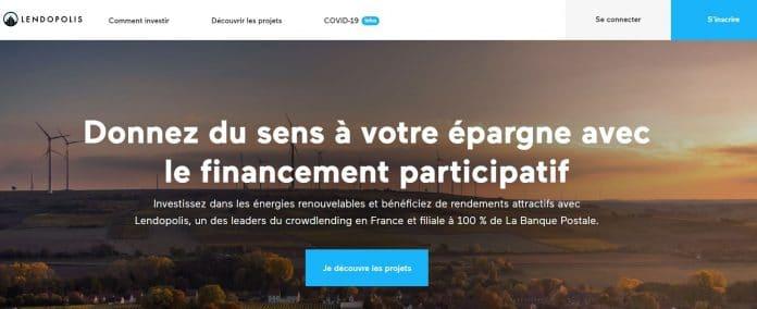 Lendopolis: entre crowdfunding pour projet d'énergie renouvelable et immobilier